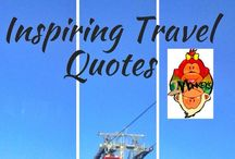 Inspiring Travel Quotes / To keep your traveling souls inspired!