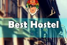 Best Hostel / The best place when you're traveling on a budget | Perfect place to socialize | Not all hostels are created equal | Pinners are allowed to pin max 5 photos/day.