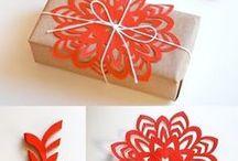 Carterie / Idées carterie, pop-up, emballages cadeaux, créations en papier et sur papier ...