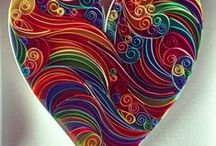 Coeurs / Idées, tutoriels et créations sur le thème des cœurs