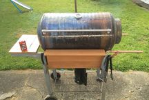 DIY BBQ / Making a Charcoal BBQ #cooking #eat #bbq #charcoal #food #diy