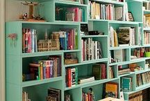 Places for books / Libraries, bookcases, etc.
