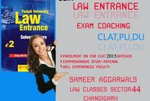 CLAT COACHING CHANDIGARH / CLAT 2015 Preparation Tips and Strategy  CLAT 2015 is scheduled to be held online for the first time and candidates appearing for the common law admission test would be searching for new strategies to crack the law exam.