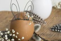 Pâques - Easter / #paques #easter #oeufs #chocolat #lapin