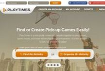 PlayTimes / This is a Landing Page of PlayTimes Startup