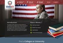 ServingVets / The Redesigned Version of ServingVets which contains Desktop & Mobile Version