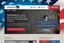ScholarVets / a Redesigned version of ServingVets website.