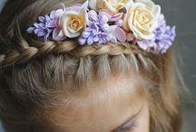 Flower crown / Bridal headpiece