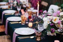 (floral) wedding color palettes