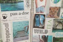 Journaling / Art journaling