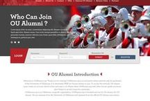 OUAlumni.org / This is a new redesigned website for OUAlumni.org with have ton of features for the Alumni to interact each others with the members.