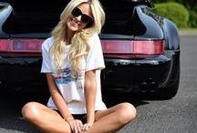 Porsche girls