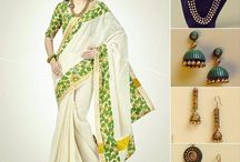 New Trends / Trending now on the Indian fashion scene.  Must have in every woman's wardrobe, 6yards of silken splendour.