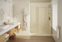 Bath Fitter Designs / This board focuses on our best bathroom renovations, concepts and designs so you can envision the possibilties of an amazing new bathroom! http://www.bathfitter.com