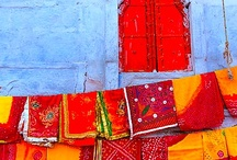 India - colors, people, saree / my dream