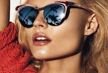 Las lentes son para el sol y para la gente que me da asco