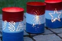 Patriotic Holidays / Everything patriotic: decorating, crafts, recipes and more