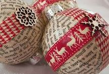 Christmas / Everything Christmas: decorating, crafts, recipes and more