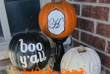 Fall & Halloween / Decorating ideas for Fall and Halloween
