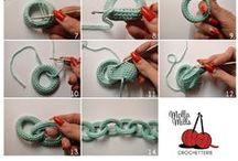 Crochet... Tricot Tutos / Astuces ^^