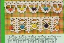 Crochet - Borders/Edges 1 / by Devonna Lindley Madsen