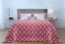 Edredones, Nórdicos / Presentamos un edredón nórdico bicolor con medidas especiales, para vestir la cama directamente con el edredón.