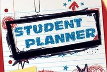 Our Student Planner Covers / Student planner covers can be customized to include your school's name