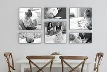 -> show off your photos / ideas and tips for showing off your photos in your house