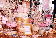Baby Girl Christening / Baby Girl Christening Ideas Candy Tables