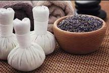 herbal ball - πουγκιά βοτάνων / Για το μάσαζ με πουγκιά βοτάνων, γνωστό και ως luk pra kob.