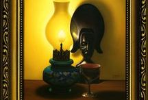 My Art (Still Lifes) / My Artworks (Still Lifes, Oil Painting on Canvas).