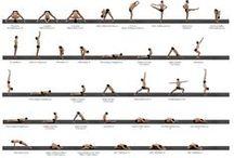 Yoga Poses / Yoga charts and pose series