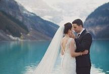 -> mountain wedding inspiration / What could be more perfect than planning a wedding in a stunning, world class travel destination for your guests, not to mention enjoying stunning scenery