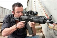Gage Crewe / ex-SAS commando and new addition to the family