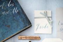 -> stationary inspiration / gorgeous and stunning wedding stationary
