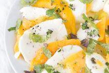 Salat Rezepte / Frische Salate mit saisonalen Zutaten, Buddha Bowl, Quinoa Salat, Bulgur, Herbstsalat, Kürbis, Mango Caprese, Nudelsalat, Kartoffelsalat, Obstsalat,...