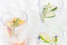 Limo & Drinks / Lemonade, Eistee, Drinks, Icetea, Lemonade selbst machen, Sommergetränke