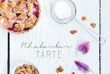 Rhabarber / Leckere Rhabarber Rezepte für den Frühling: Rhabarberkuchen, Rhabarbermarmelade, Rhabarberkompott...