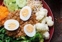 Indonesian food  /  Indonesisch eten