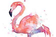 Wasserfarbe - Watercolor / Tolle Auarellbilder und Ideen für Wasserfarbe