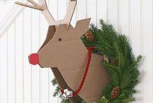 Decoración Navidad / Ideas originales para crear. ¡Trae la Navidad a tu hogar! ✨☃️❄️