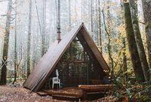 Promenons-nous dans les bois... / Inspiration pour une Maison / chalet dans la forêt
