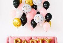 Party! / Lustige Ideen für die nächste Party! Partydeko, Partyrezepte und Must haves.