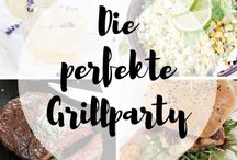 Die perfekte Grillparty / Die perfekte Grillparty: leckere Grillrezepte, Salate, Nachtisch und Deko für die Gartenparty