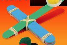 Bricolages : jeux et jouets