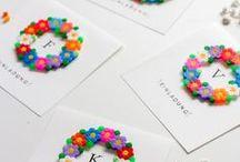 Bügelperlen / DIY mit Bügelperlen, Hama Perlen, DIY Geschenke, Deko, Schlüsselanhänger, Untersetzer