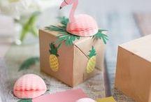 Flamingo / Leckere Flamingo Rezepte und DIYs: Flamingo Cake, Flamingo Drink und Flamingo Deko