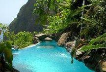 TROPICAL GETAWAYS. / Palms, Beaches & Paradise Getaways.