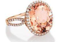 Morganite Engagement Rings / Alternative engagement rings   MOHS 7.5-8