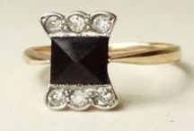 Black Engagement Rings / Alternative engagement rings for the spectacular bride to be.  MOHS 7.5 - 8